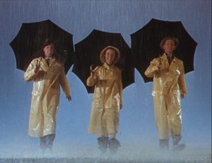 Lyrics to the song Singin' in the Rain, made famous by Gene Kelly in the 1952 MGM musical of the same name