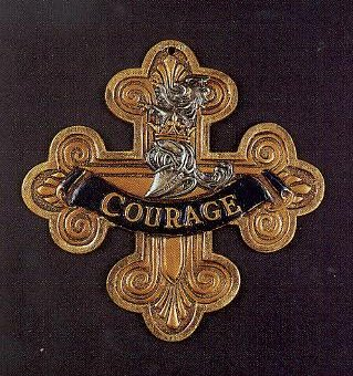 If I Only Had the Nerve lyrics - the Cowardly Lion's medal for courage