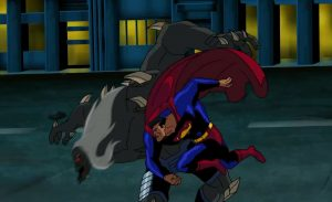 Superman battles Doomsday - to the death