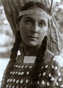 "By the Waters of Minnetonka lyrics -- €"" (J.M. Cavanass / Thurlow Lieurance) (1914)"