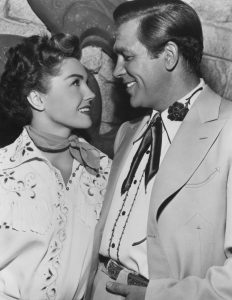 Esther Williams and Howard Keel in Texas Carnival