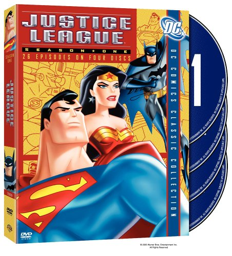 Justice League season 1 - Superman, Batman, Wonder Woman