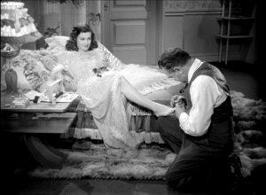 Joan Bennett and Edgar G. Robinson in Scarlet Street