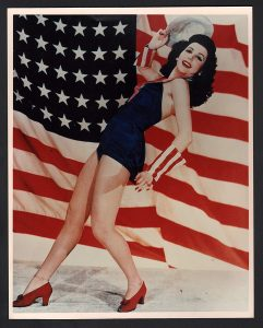 Ann Miller dancing - publicity photo