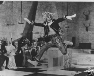 Dick Van Dyke dancing in the fantasy number in Chitty Chitty Bang Bang