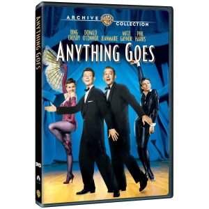 Anything Goes, starring Bing Crosby, Donald O'Connor, Mitzi Gaynor, JeanMarie, Phil Harris