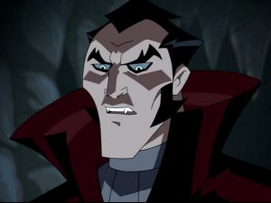Dracula, as portrayed in The Batman vs. Dracula