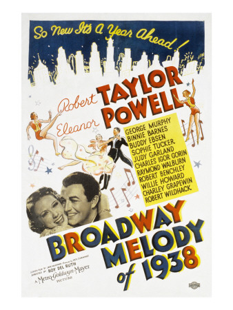 Broadway Melody of 1938 - Robert Taylor, Eleanor Powell, Buddy Ebsen, Billy Gilbert, Judy Garland