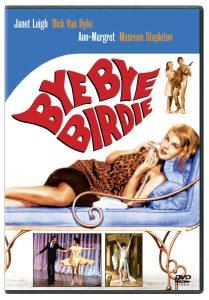 Bye Bye Birdie, starring Dick van Dyke, Janet Leigh, Ann Margaret, Maureen Stapleton, Paul Lynde