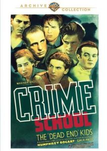 Crime School (1938) starring Humphrey Bogart and the Dead End Kids