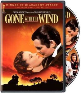 Gone with the Wind, starring Clark Gable and Vivian Leigh