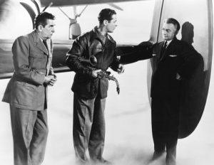 "Here Comes Mr. Jordan - Edward Everett Horton as the over-eager angel, Robert Montgomery as the ""dead"" boxer Joe Pendleton, and Claude Rains as Mr. Jordan"