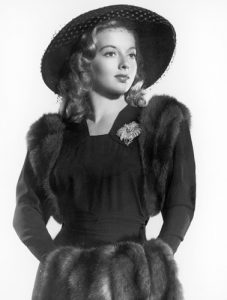 Evelyn Keyes in Here Comes Mr. Jordan