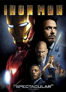 Iron Man, starring Robert Downey Jr., Jeff Bridges, Gwyneth Paltrow