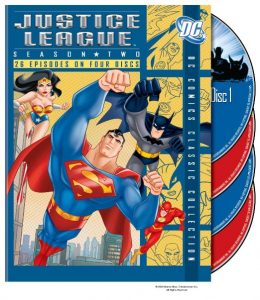 Justice League season 2 - Superman, Batman, Wonder Wwoman, Flash, Green Lantern, Hawkgirl, Martian Manhunter