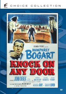 Knock on Any Door (1949), starring Humphrey Bogart and John Derek