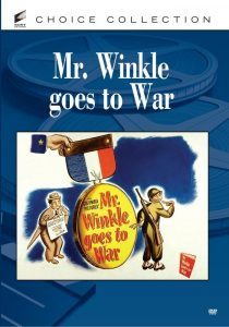 Mr. Winkle Goes to War, starring Edgar G. Robinson