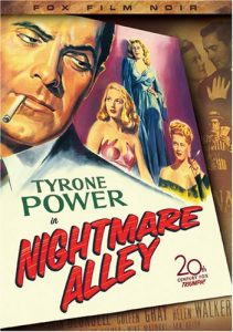 Nightmare Alley, starring Tyrone Power