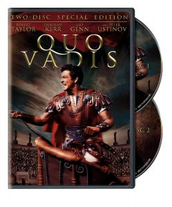 Quo Vadis (1951) starring Robert Taylor, Deborah Kerr, Leo Genn, Peter Ustinov