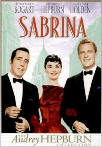 Sabrina, starring Humphrey Bogart, Audrey Hepburn, William Holden