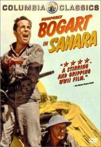 Sahara (1943) starring Humphrey Bogart, Bruce Bennett, J. Carrol Naish, Lloyd Bridges