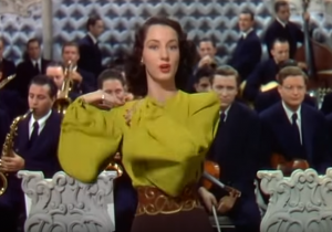 Salome song lyrics, sung by Virginia O'Brien in Du Barry was a Lady
