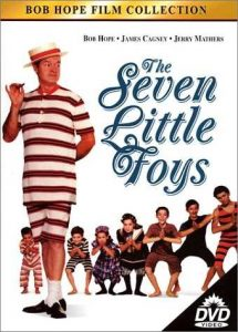 Movie review of -- €˜The Seven Little Foys', starring Bob Hope as Eddie Foy, the star of vaudeville who has been absent from his children's lives ... until his wife dies, and he's now forced to be a real -- €˜father' in every sense of that word ... and how Eddie and his children develop mutual love for each other, and how he struggles to work them into his act. A wonderful film, very funny and very touching, often at the same time.