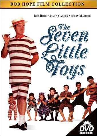Movie review of 'The Seven Little Foys', starring Bob Hope as Eddie Foy, the star of vaudeville who has been absent from his children's lives ... until his wife dies, and he's now forced to be a real 'father' in every sense of that word ... and how Eddie and his children develop mutual love for each other, and how he struggles to work them into his act. A wonderful film, very funny and very touching, often at the same time.