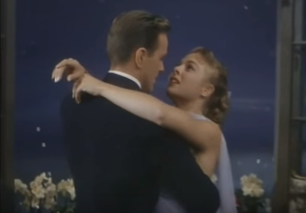 Smoke gets in your eyes lyrics - Gower and Marge Champion dancing in Lovely to Look At