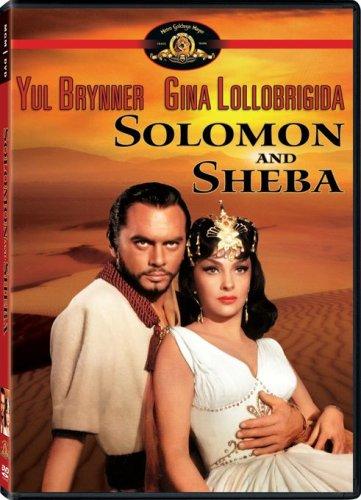 Solomon and Sheba, starring Yul Brinner, Gina Lollobrigida, George Sanders