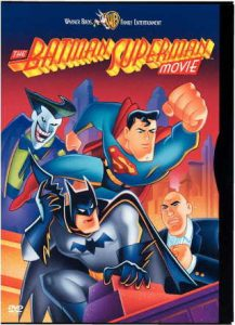 """Movie review of -- €˜The Batman Superman Movie: World's Finest' -- €"""" telling the story of how the world's 2 foremost superheroes met, initially disliking each other's method of operating, clash over a mutual attraction to Lois Lane, and how the develop a grudging respect for each other -- €"""" while defeating the plans of Lex Luthor and the Joker as well!"""
