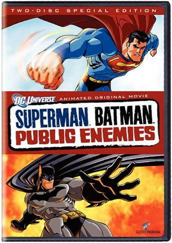 Superman Batman Public Enemies - DC Universe animated movie - two-disc special edition