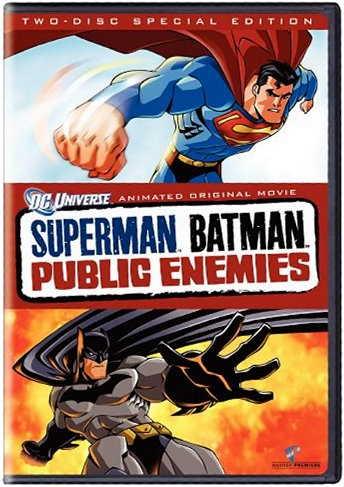Superman Batman Public Enemies - DC Universe animated movie - two-disc special edition