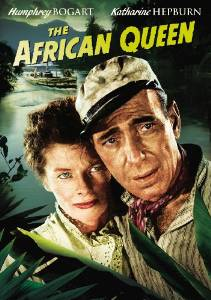 The African Queen - Katharine Hepburn, Humphrey Bogart