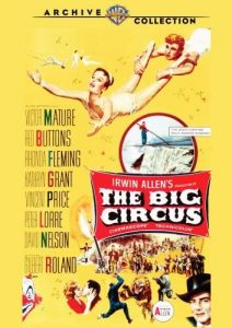 The Big Circus (1959) starring Victor Mature, Vincent Price, Peter Lorre, Red Buttons