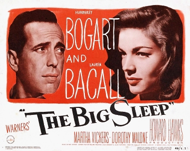 The Big Sleep - Humphrey Bogart, Lauren Bacall - the film they were made for