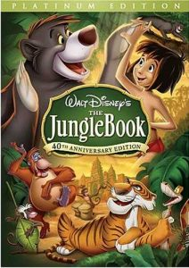 Walt Disney's classic animated movie, -- €˜The Jungle Book', based on the stories by Rudyard Kipling, featuring the adventures of Mowgli, an orphan boy raised by wolves, who has to be taken to the human village to protect the wolf pack from the wrath of Shere Khan, the tiger - a wonderful classic, featuring the voice talents of Phil Harris and Sebastian Cabot, among others.