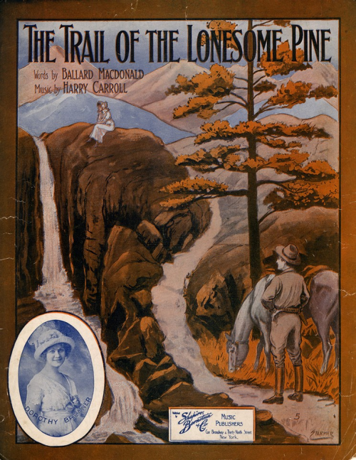 The Trail of the Lonesome Pine lyrics, performed in the Laurel and Hardy film, Way Out West