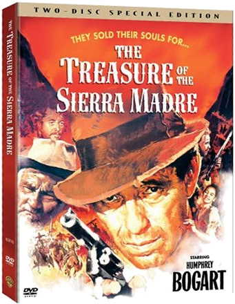 The Treasure of the Sierra Madre (1948) starring Humphrey Bogart, Walter Huston, directed by John Huston
