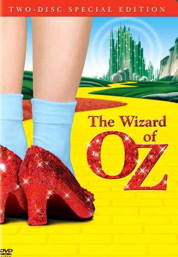 The Wizard of Oz, starring Judy Garland, Ray Bolger, Jack Haley, Bert Lahr, Frank Morgan, Margaret Hamilton, Billie Burke