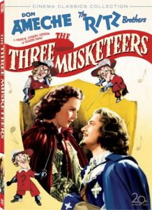 The Three Musketeers (1939), starring Don Ameche and the Ritz Brothers