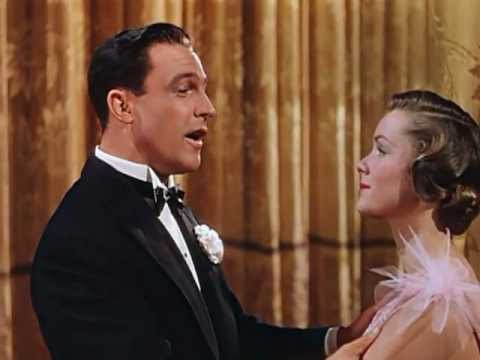 Gene Kelly and Debbie Reynolds singing You Are My Lucky Star in the movie Singing in the Rain