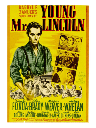 Young Mr. Lincoln (1939) starring Henry Fonda, directed by John Ford