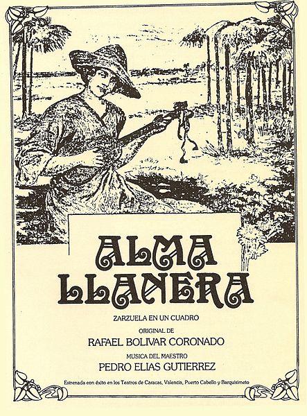 Alma Llanera song lyrics