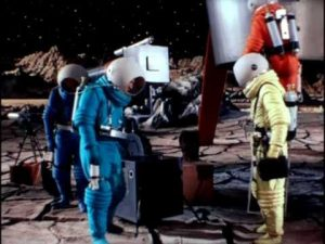 The astronauts have landed - Destination Moon