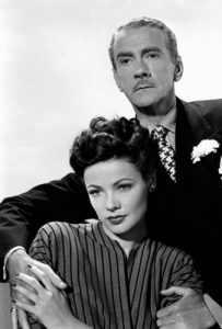 Judith Anderson and Clifton Webb in Laura