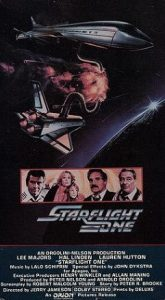 Starflight One (1983) starring Lee Majors, Hal Linden, Lauren Hutton, Ray Milland