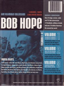 The Ultimate Bob Hope Collection - 3 DVD collection of clips of Bob Hope over the years, including bloopers, outtakes, and movie shorts