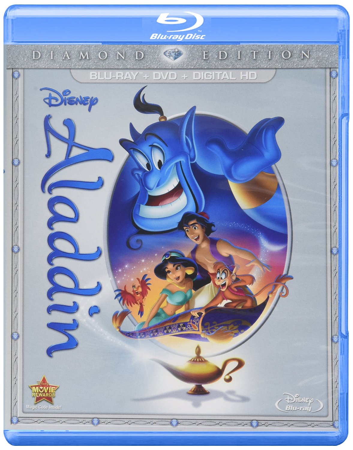 Walt Disney's Aladdin (1992) with the voice talents of Robin Williams, Gilbert Gottfried