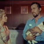 Barbara Eden and Michael Ansara in Voyage to the Bottom of the Sea